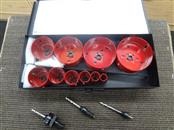 MORSE TOOL AV08E MASTER ELECTRICIAN'S HOLE SAW KIT - LIKE NEW!